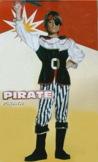 Kinder Kostüm Pirat Seeräuber Freibeuter Korsar Kinderkostüm 8-10J Gr.M Karneval