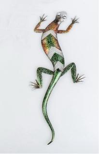 Gecko metall g nstig sicher kaufen bei yatego - Wanddeko eidechse ...
