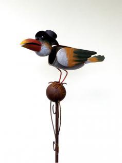Gartenstecker vogel online bestellen bei yatego for Gartendeko glas stecker