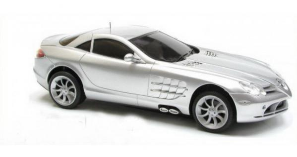 Modellauto Mercedes Benz SLR MCLAREN silber ferngesteuert Auto R/C Modell 1:16