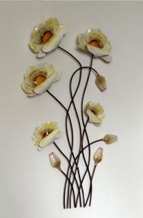 metall blume wanddeko online bestellen bei yatego. Black Bedroom Furniture Sets. Home Design Ideas