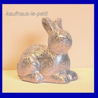 Osterhase Hase Kaninchen Deko Figur STOOBZ Design Gartenfigur Dekofigur bunt