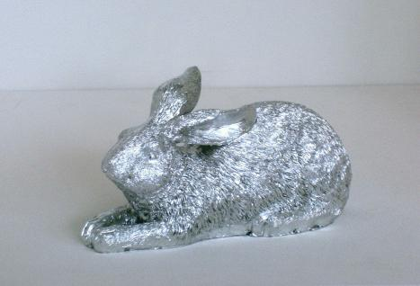 Deko skulptur silber online bestellen bei yatego - Hase silber deko ...