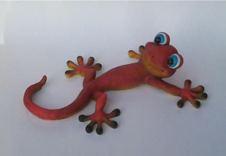 Wanddeko gecko g nstig sicher kaufen bei yatego - Wanddeko eidechse ...