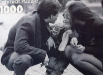Puzzle 1000 Wir drei Schmidt Puzzel schwarz weiss