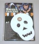 Girlande 3 m Halloween Totenkopf Dekogirlande Party Deko Karneval Fasching Skull