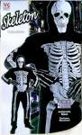 Kinder Kostüm Skelett Geist Skelettkostüm Halloween Kinderkostüm Gr.M, 8-10 J
