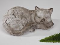 Katze Katzen Deko Garten Tier Figur Skulptur Katzenfigur Gartenfigur Dekofigur