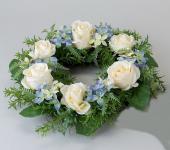 Türkranz Wandkranz Wanddeko Wandschmuck Deko Tisch Frühlings Oster Kranz Blumen