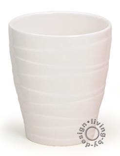 Blumentopf keramik wei online bestellen bei yatego for Blumentopf keramik