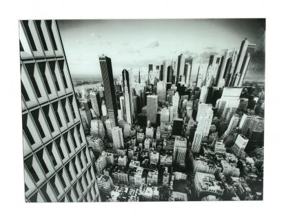 Wandbild aus Glas 60x80cm New York City Skyline Glasbild