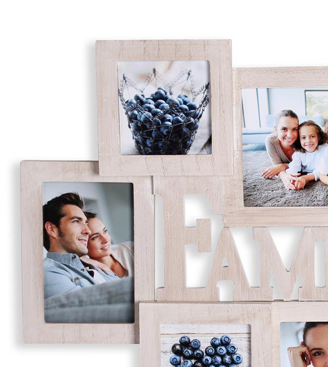 Bilderrahmen Collage Holz. bilderrahmen braun holz collage ...