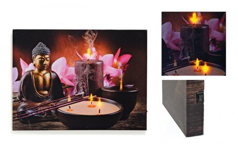 led bild wandbild mit beleuchtung kaufen bei yatego. Black Bedroom Furniture Sets. Home Design Ideas