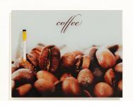 Memotafel Schreibtafel Coffee Kaffee Glas 30x40cm - inkl. Boardmarker
