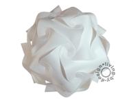 Puzzle Lampe weiß XXL 65 Lampada Romantica Designer Retro Hängelampe