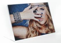 Fotorahmen aus Acrylglas Bilderrahmen 15x10cm Potrait Bild Querformat
