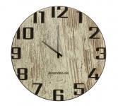 Wand-Uhr Holz 30cm Shabby Chic Deutsche Herstellung modern Marke