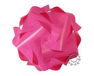 IQ Puzzle Lampe pink XL 42 Retro Designer Hängelampe Deckenleuchte