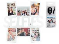 Selfie Bilderrahmen Weiß für 6 Fotos Fotorahmen Fotogalerie Collage