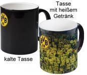 BVB BORUSSIA DORTMUND-ZAUBERTASSE /TASSE