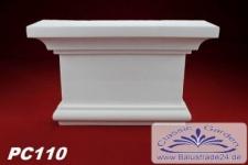 PC110 Pilaster Kapitell für Pilastersäulen Breite 2555mm Styropor Fassadenstuck