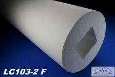 LC103-2F Säule glatt mit 405mm Durchmesser 2Meter Full für Haus Garten Eingang Verkleidung