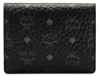 MCM Kartenetui / 2 Fold Card Wallet, Color Visetos black