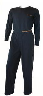 Emporio Armani Herren Loungewear / Schlafanzug lang, carbon Gr. M