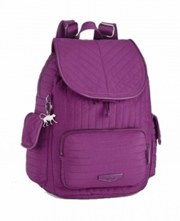 Kipling Rucksack City Pack S, Wild Pink