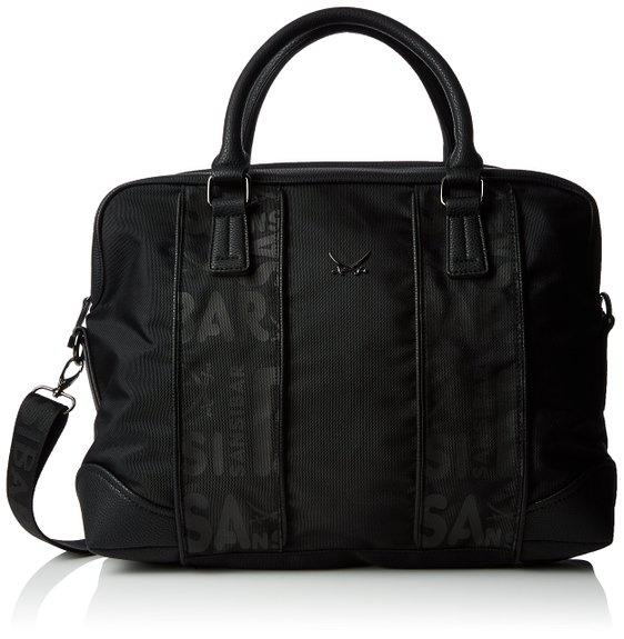 Sansibar Sylt Joran, Messenger Bag B-888 JO 01, black