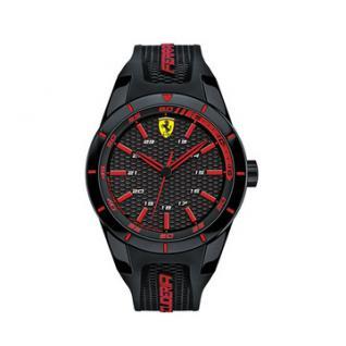 Scuderia Ferrari Red Rev Uhr schwarz, 0830245