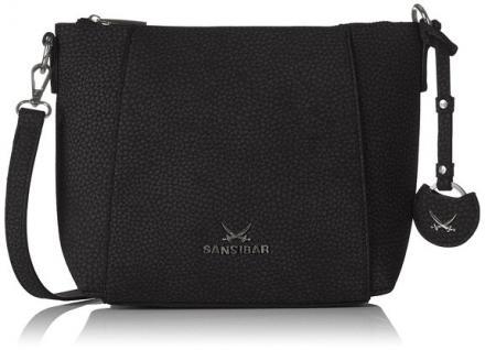 Sansibar Sylt Karajol, Crossoer Bag B-895 KA 01, black