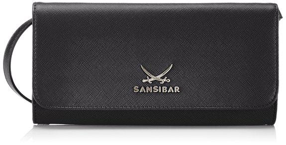 Sansibar Sylt Chic B-657 SC 01, Clutch schwarz