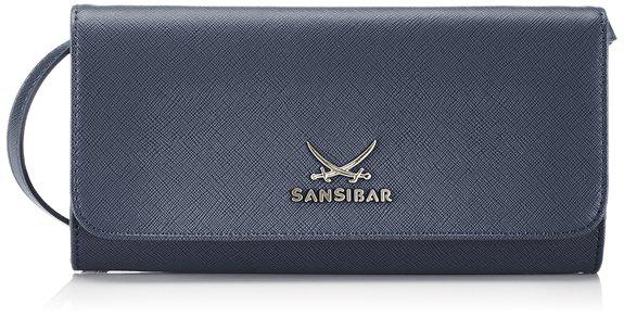 Sansibar Sylt Chic B-657 SC 03, Clutch midnight blue