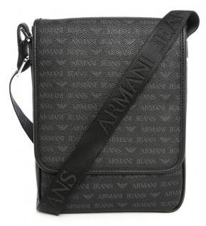 Armani Jeans Messenger / Umhängetasche 0622D schwarz