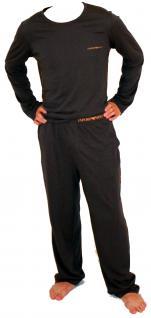 Emporio Armani Herren Loungewear / Schlafanzug lang, grey, Gr. M