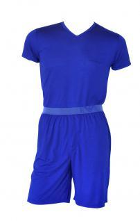 Emporio Armani Herren Loungewear / Schlafanzug kurz, blau