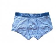 Emporio Armani Stretch Cotton Trunk, gestreift, 111389