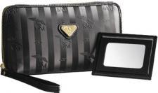 Maison Mollerus Kosmetiktäschchen mit Spiegel 1058, Born gold