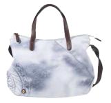 Roeckl Bottle Bag, Umhängetasche M indigo/weiss