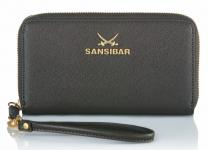 Sansibar Sylt Chic Geldbörse B-670 SC 01, schwarz