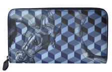 Loup Noir Portemonnaie groß mit Zip, Cheval Blue