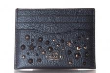 Coach Kreditkartenetui/ Flat Card Case, Metallic Blue, 59453
