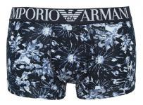 Emporio Armani Stretch Cotton Trunk, 111389 5P502 printed dark Gr. S