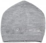 Armani Jeans Mütze / Beanie mit Strassbesatz, B5426 grau