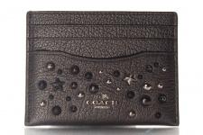 Coach Kreditkartenetui/ Flat Card Case, Metallic Graphite, 59453