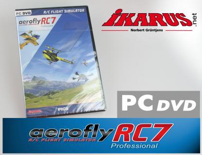 Modellflugsimulator aeroflyRC7 PROFESSIONAL (DVD für Windows)
