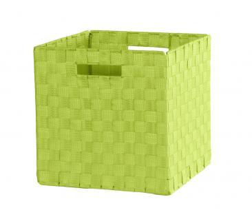 Faltbox Box Nylonbox - Delta -32 x 32 cm / 3er Set -Apfelgrün