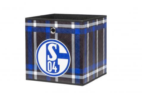 Faltbox Box - FC Schalke / Nr.1 - 32 x 32 cm / 3er Set