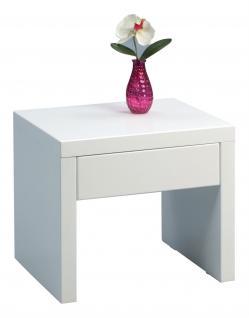 nachttisch wei hochglanz g nstig kaufen bei yatego. Black Bedroom Furniture Sets. Home Design Ideas